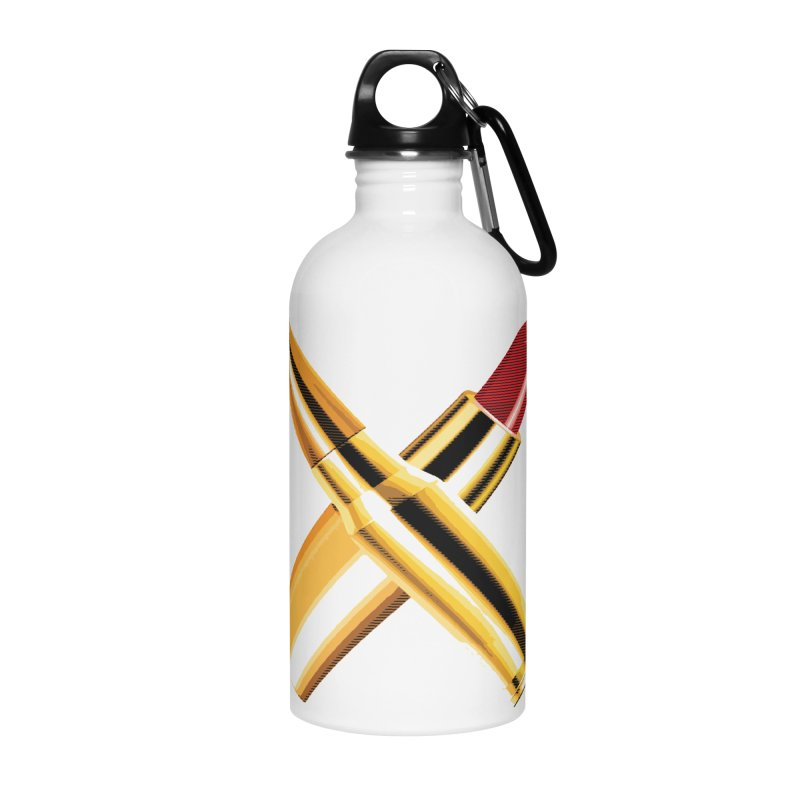 KISSKISS BANGBANG Accessories Water Bottle by Brimstone Designs