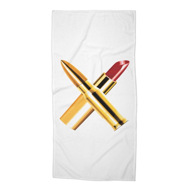 KISSKISS BANGBANG Accessories Beach Towel by Brimstone Designs