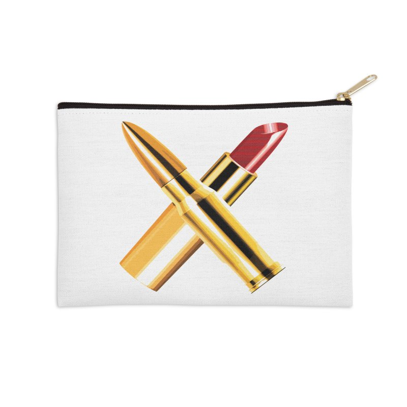 KISSKISS BANGBANG Accessories Zip Pouch by Brimstone Designs