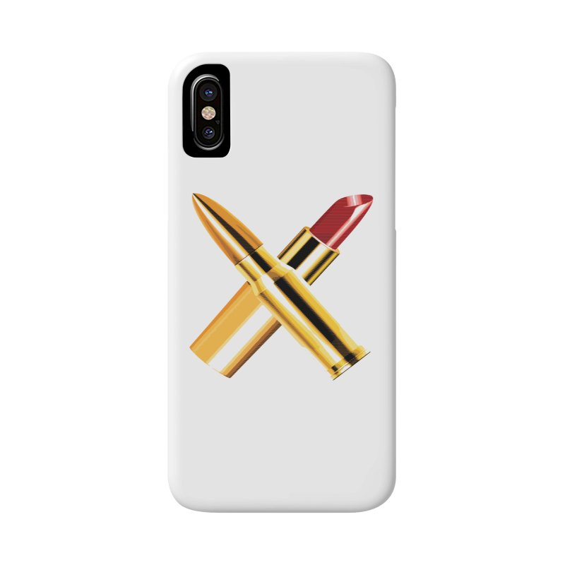 KISSKISS BANGBANG Accessories Phone Case by Brimstone Designs