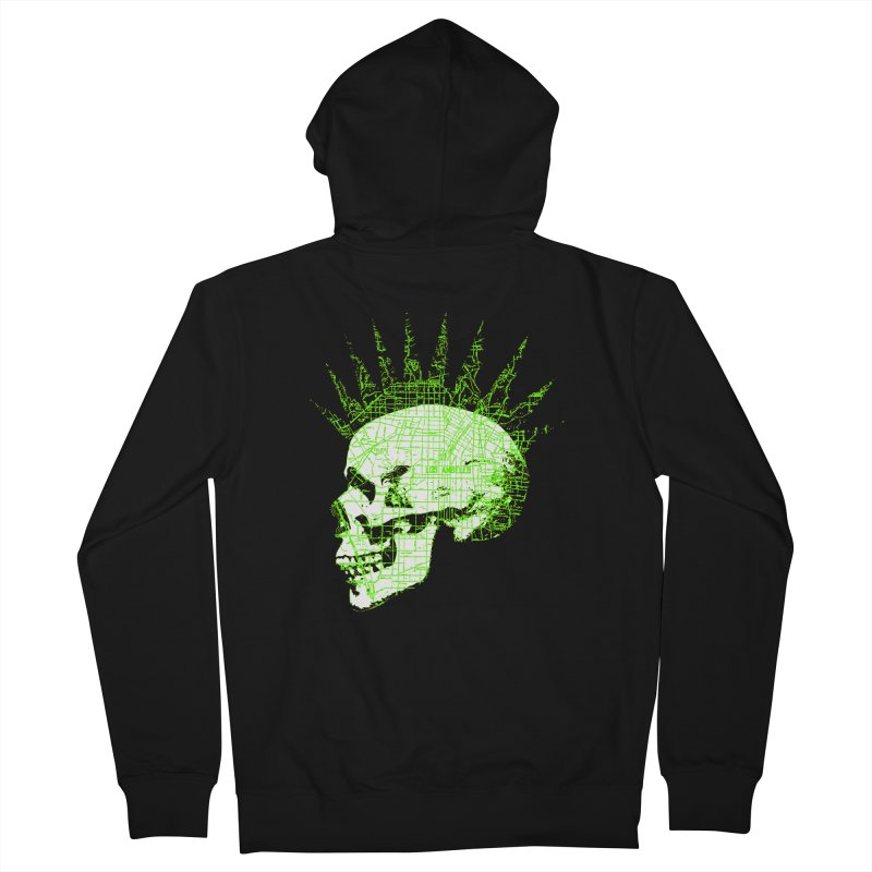 REPO MAN Men's French Terry Zip-Up Hoody by Brimstone Designs