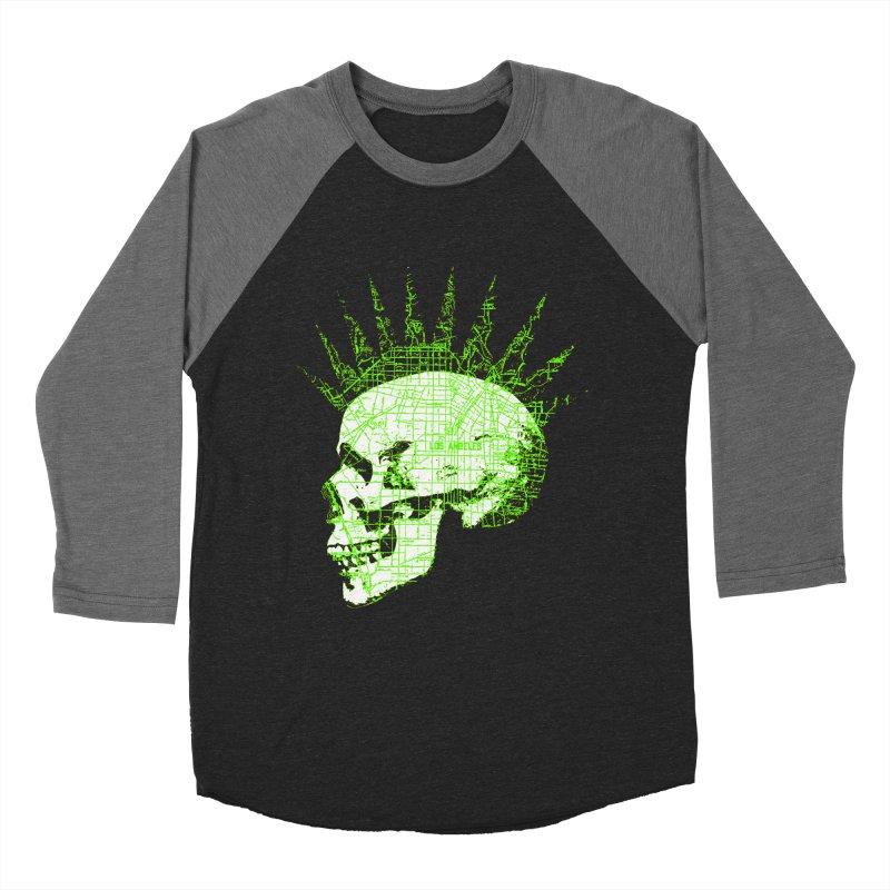 REPO MAN Women's Baseball Triblend T-Shirt by Brimstone Designs