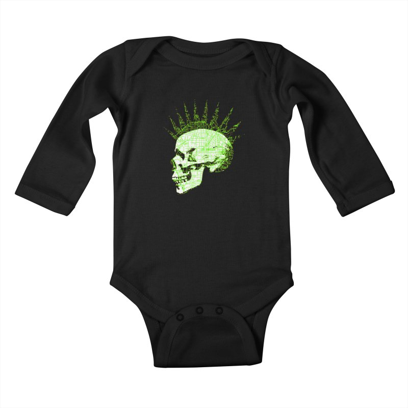 REPO MAN Kids Baby Longsleeve Bodysuit by Brimstone Designs