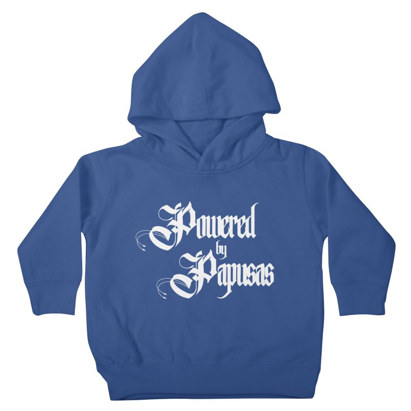 PAPUSA POWER Kids Toddler Pullover Hoody by Brimstone Designs