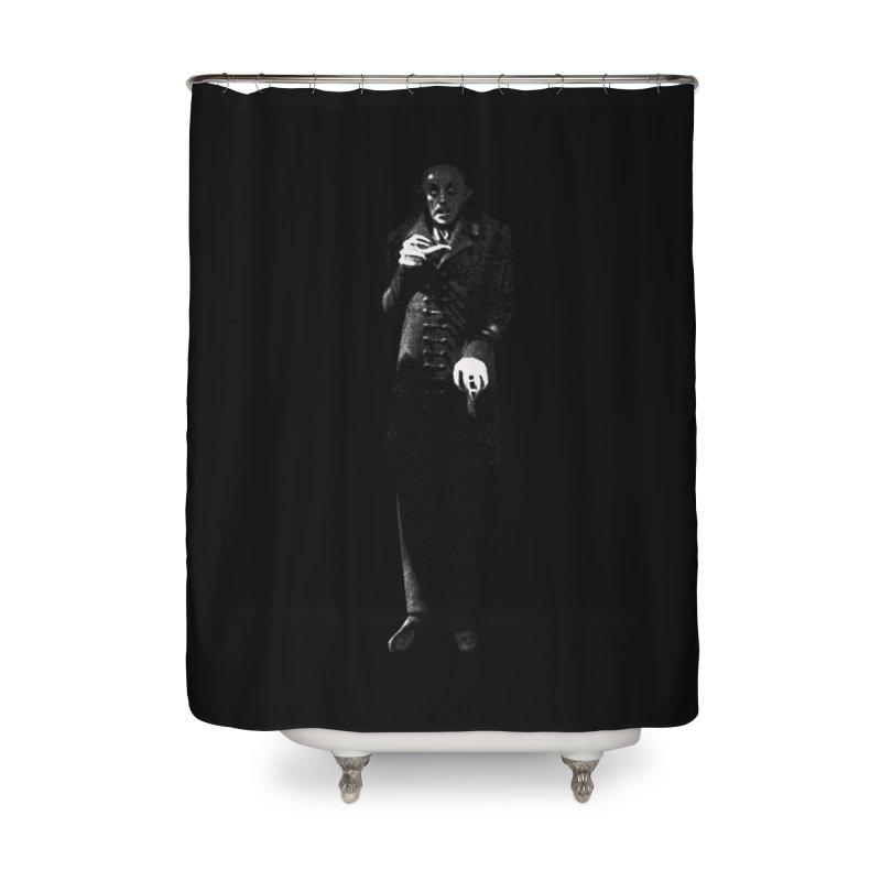 Orlok Home Shower Curtain by Brimstone Designs