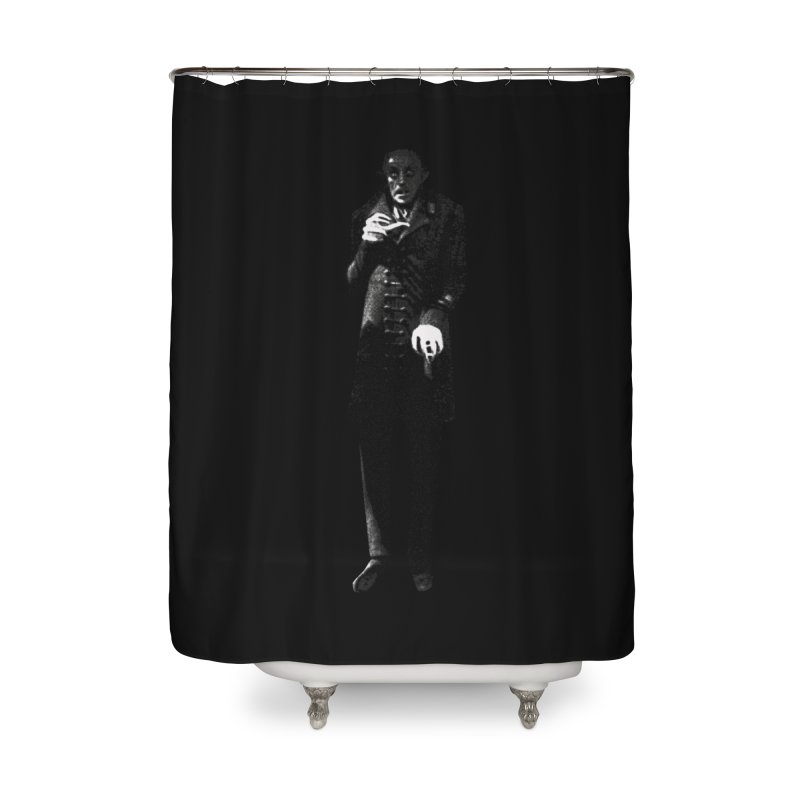 Orlok Home Shower Curtain by Brimstone Designs