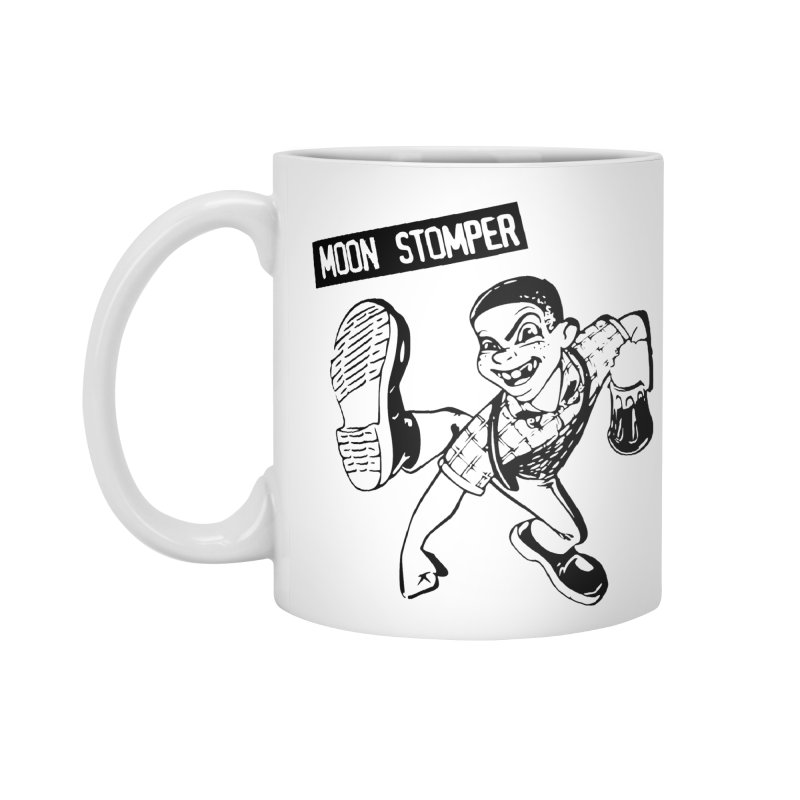 MOON STOMPER Accessories Mug by Brimstone Designs
