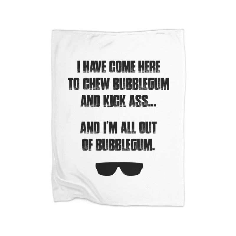 BUBBLEGUM Home Blanket by Brimstone Designs