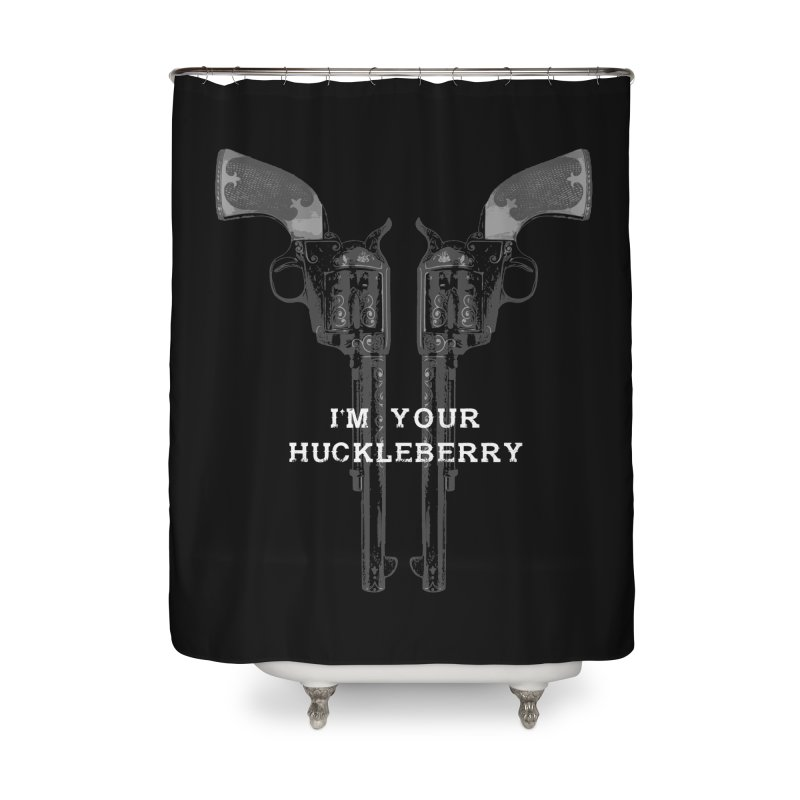 Doc Home Shower Curtain by Brimstone Designs