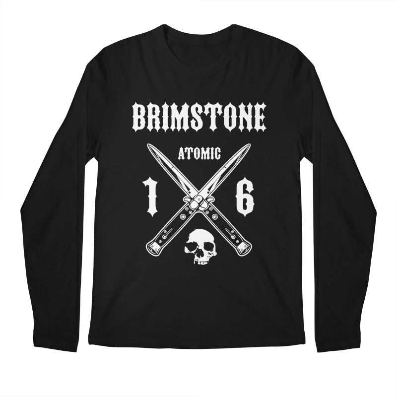 SWITCHBLADES Men's Longsleeve T-Shirt by Brimstone Designs
