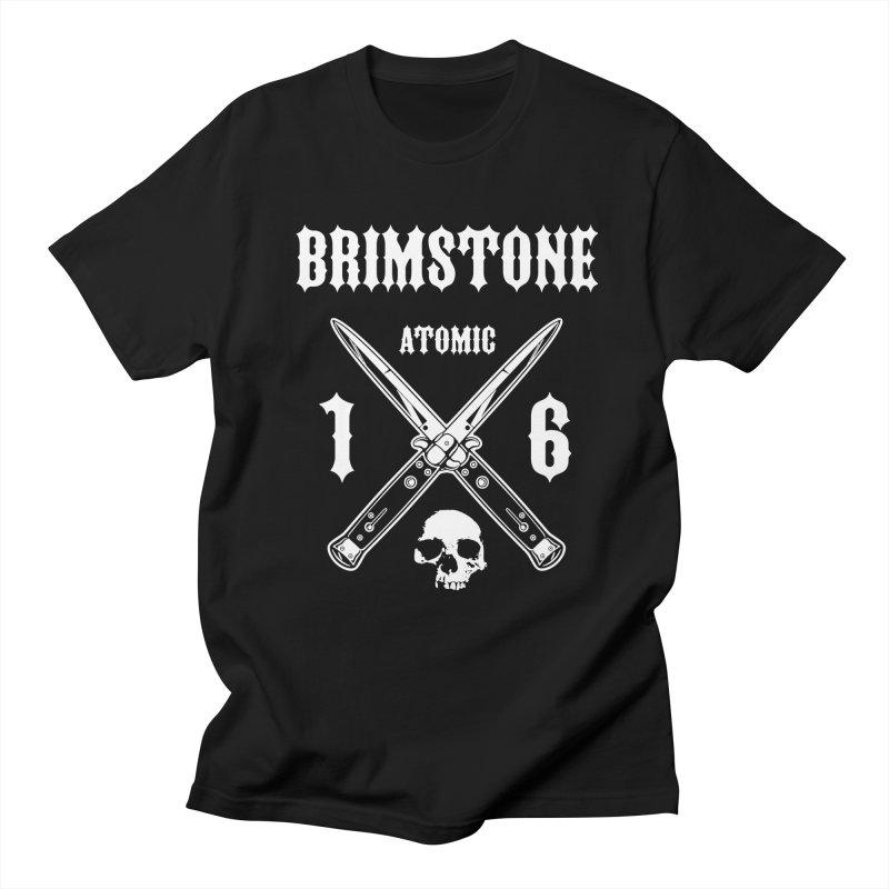 SWITCHBLADES Men's T-Shirt by Brimstone Designs