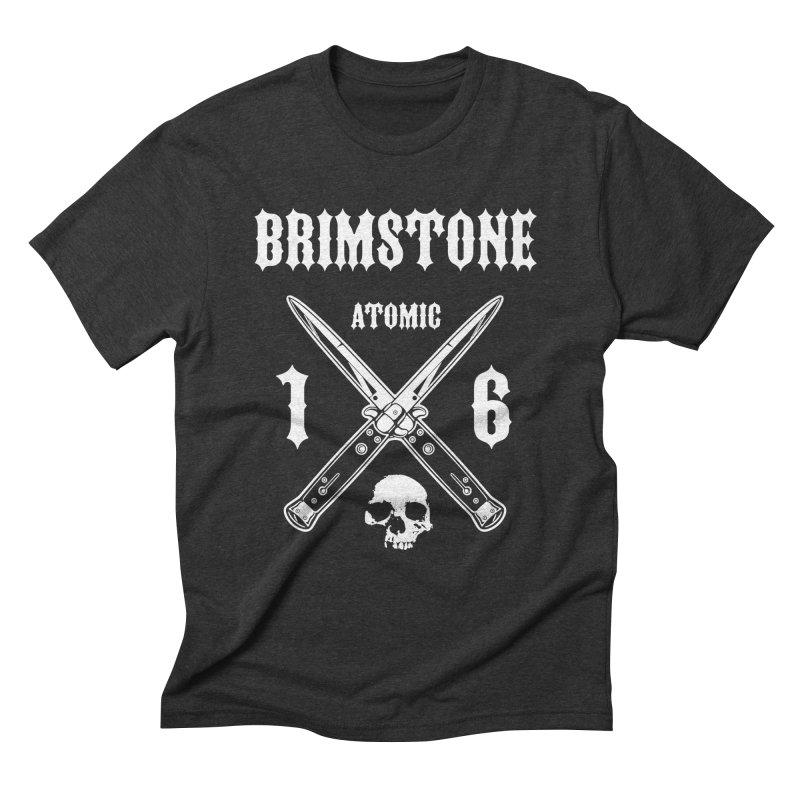 SWITCHBLADES Men's Triblend T-Shirt by Brimstone Designs