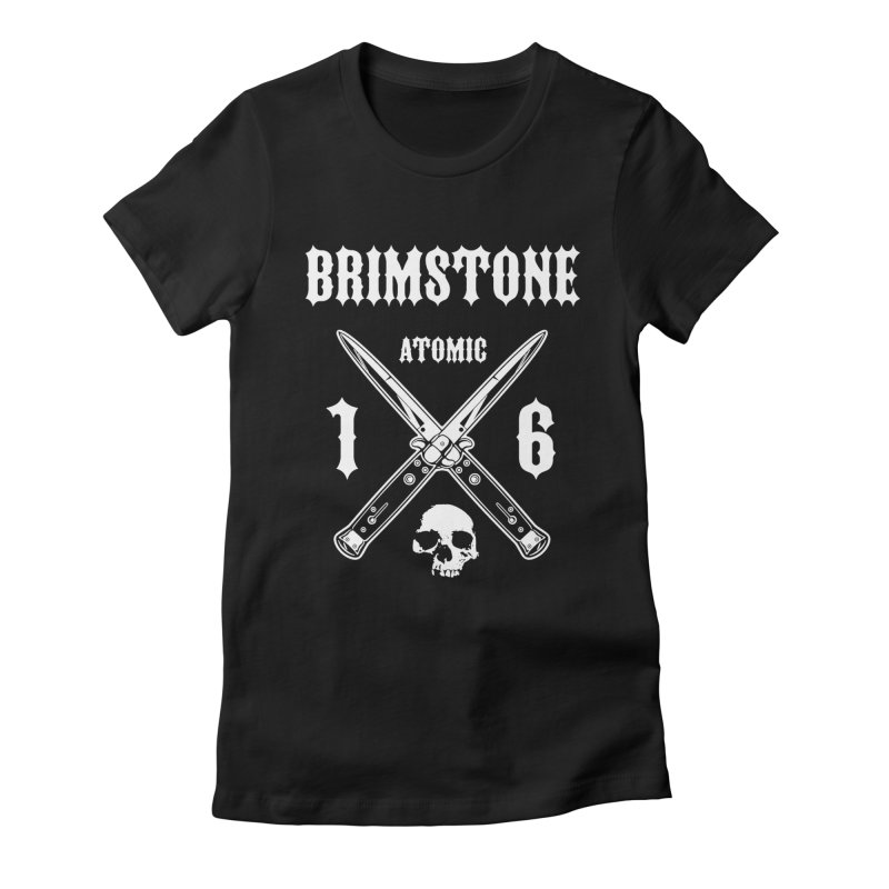 SWITCHBLADES Women's Fitted T-Shirt by Brimstone Designs