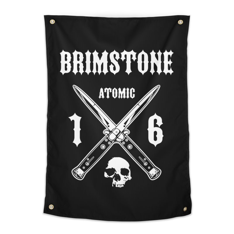SWITCHBLADES Home Tapestry by Brimstone Designs