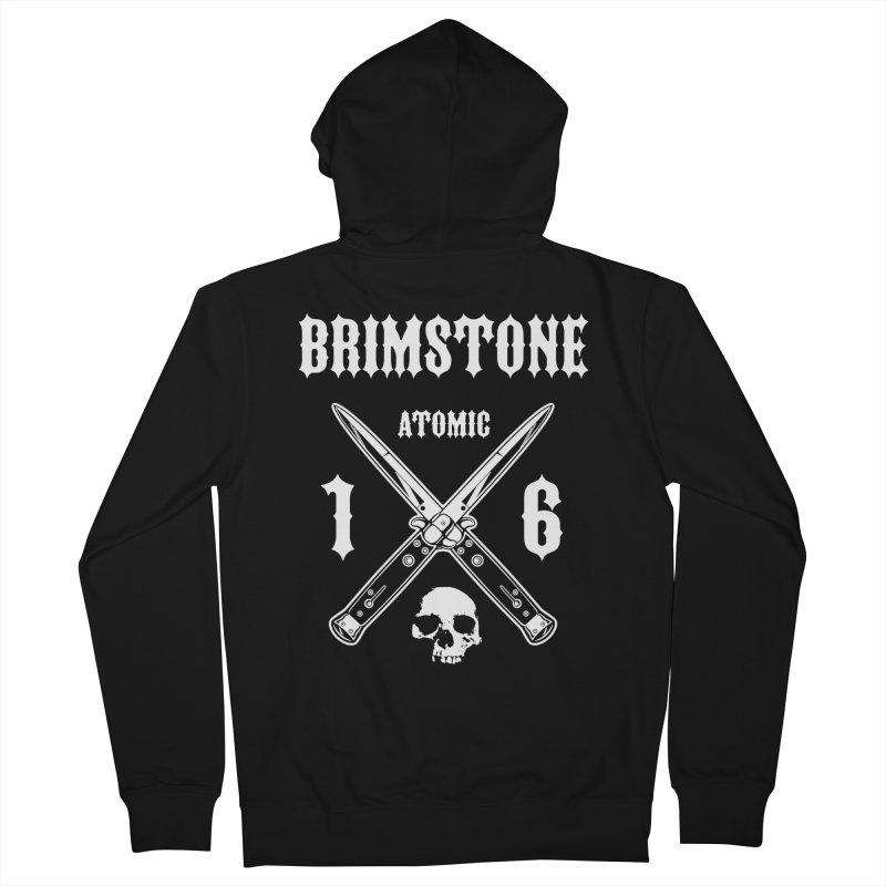 SWITCHBLADES Men's French Terry Zip-Up Hoody by Brimstone Designs