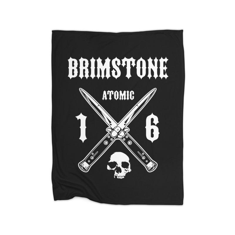 SWITCHBLADES Home Blanket by Brimstone Designs