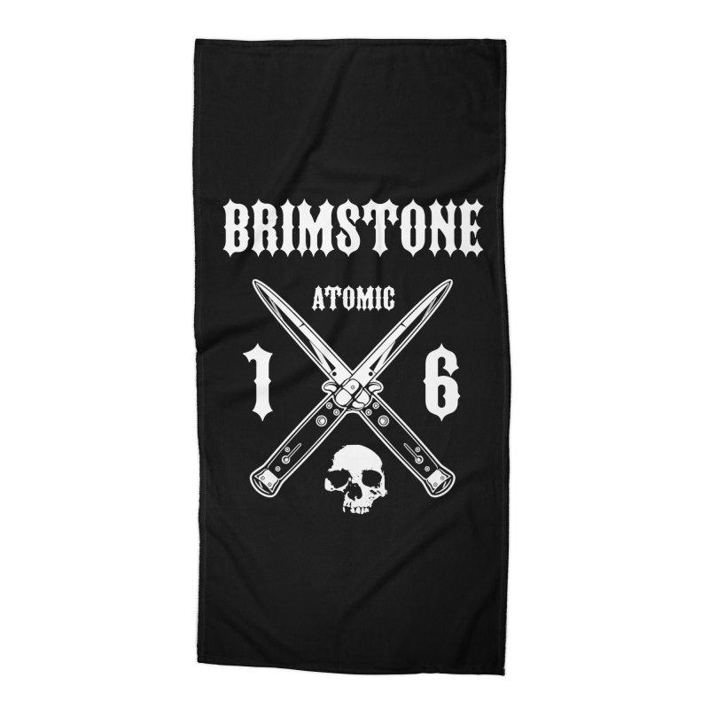 SWITCHBLADES Accessories Beach Towel by Brimstone Designs