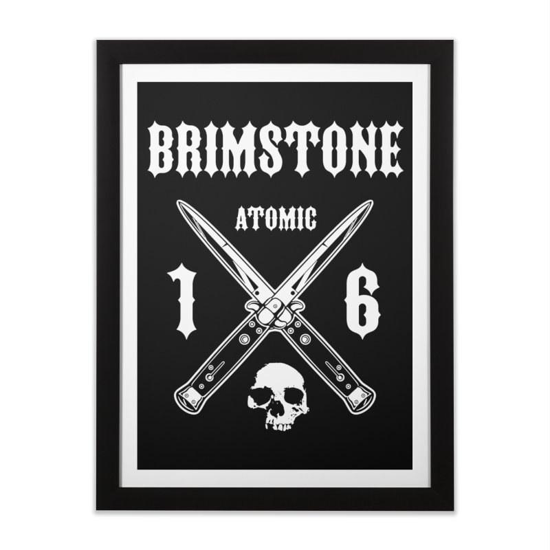 SWITCHBLADES Home Framed Fine Art Print by Brimstone Designs