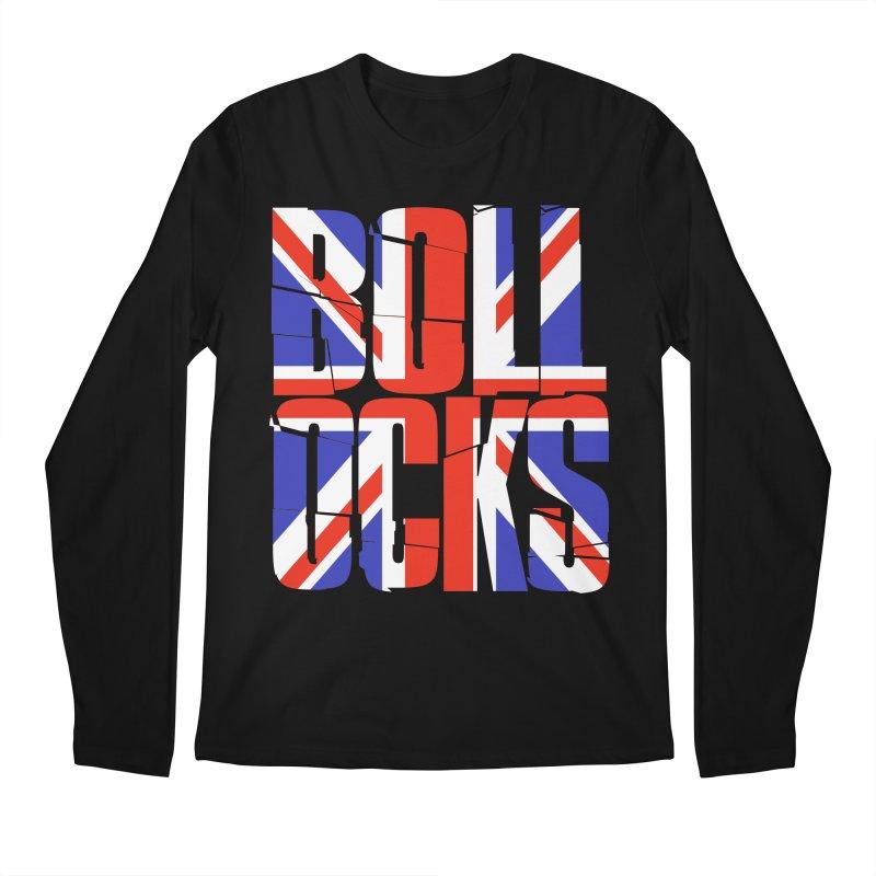 BOLLOCKS Men's Longsleeve T-Shirt by Brimstone Designs
