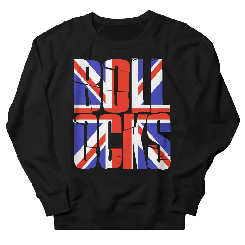 BOLLOCKS Men's Sweatshirt by Brimstone Designs