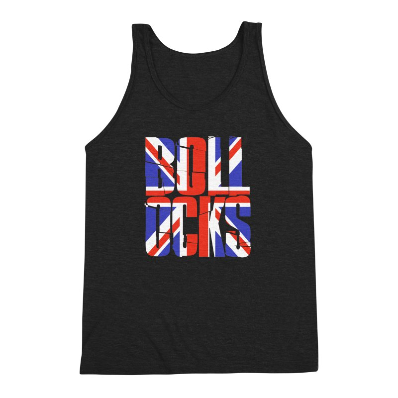 BOLLOCKS Men's Triblend Tank by Brimstone Designs