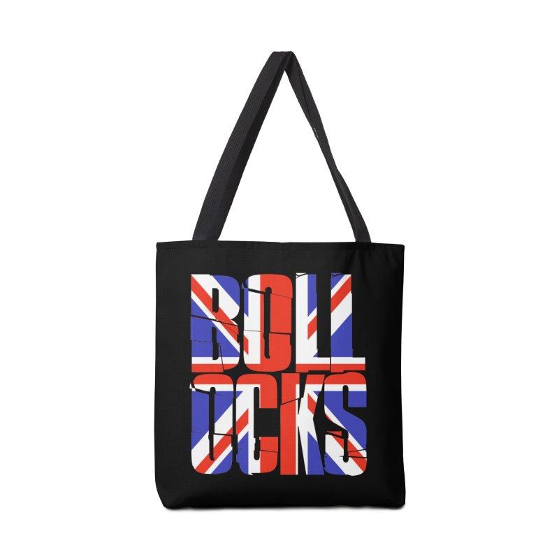 BOLLOCKS Accessories Bag by Brimstone Designs