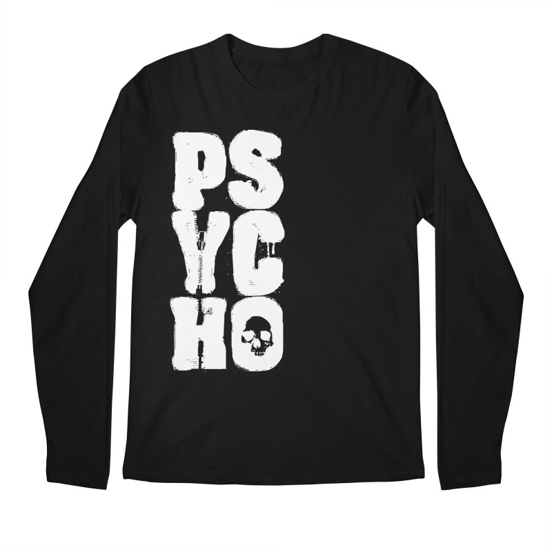 PSYCHO Men's Longsleeve T-Shirt by Brimstone Designs