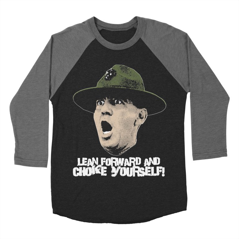 CHOKE Men's Baseball Triblend Longsleeve T-Shirt by Brimstone Designs