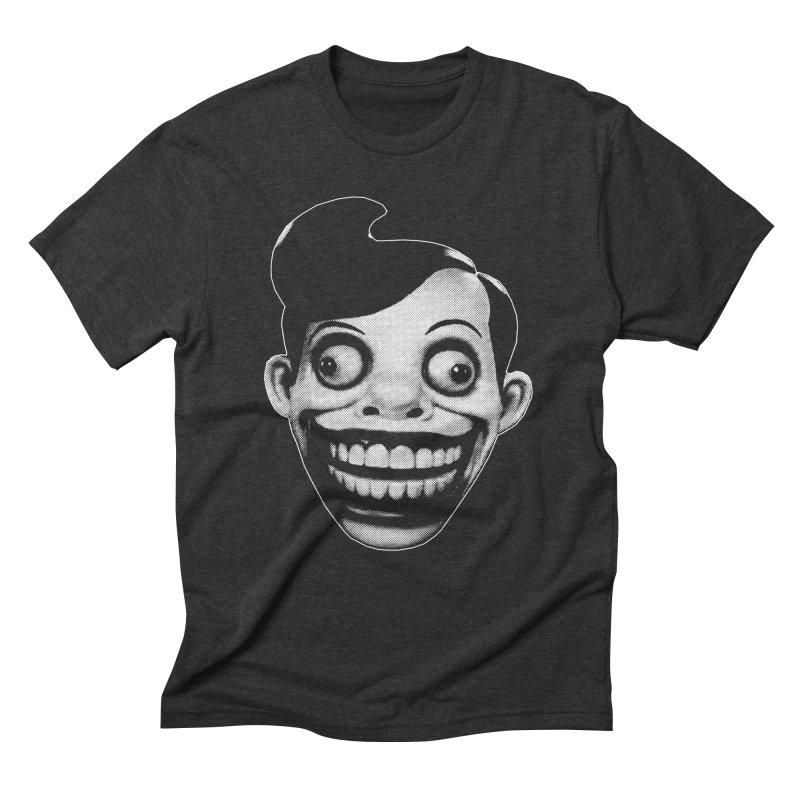 Chuckle Teeth Men's Triblend T-Shirt by Brimstone Designs