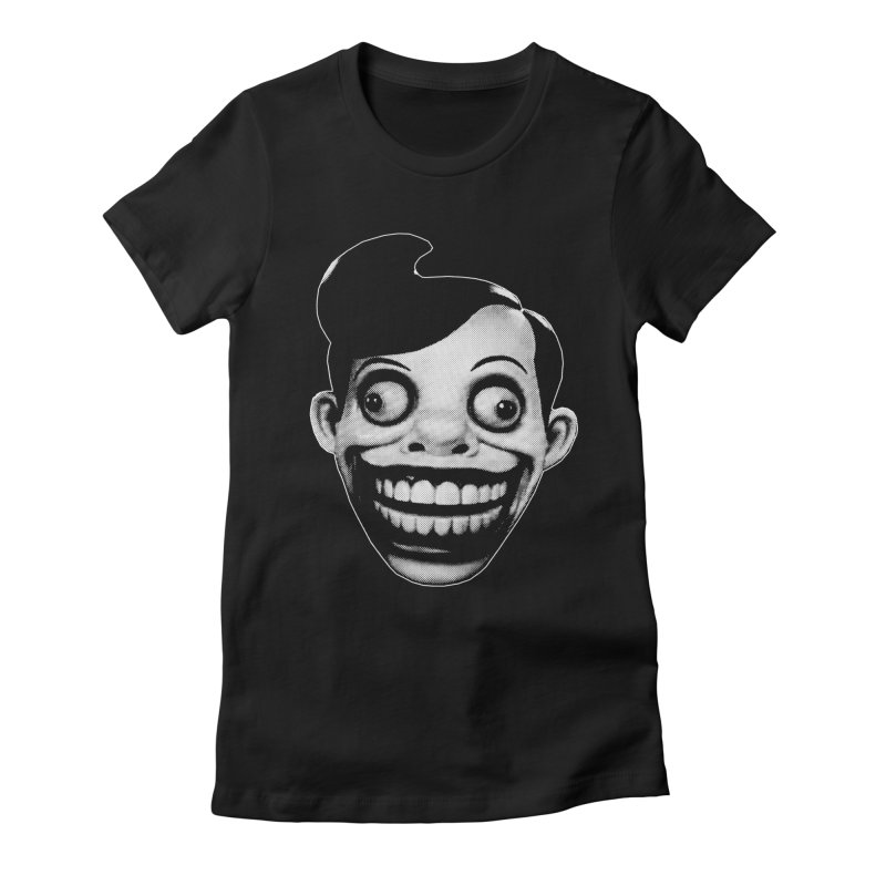 Chuckle Teeth Women's Fitted T-Shirt by Brimstone Designs