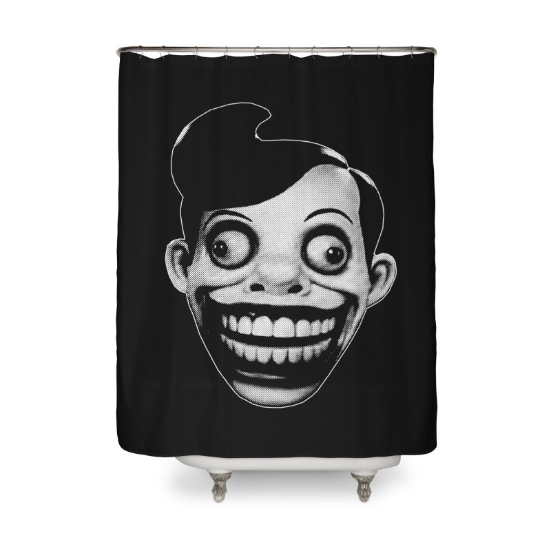 Chuckle Teeth Home Shower Curtain by Brimstone Designs