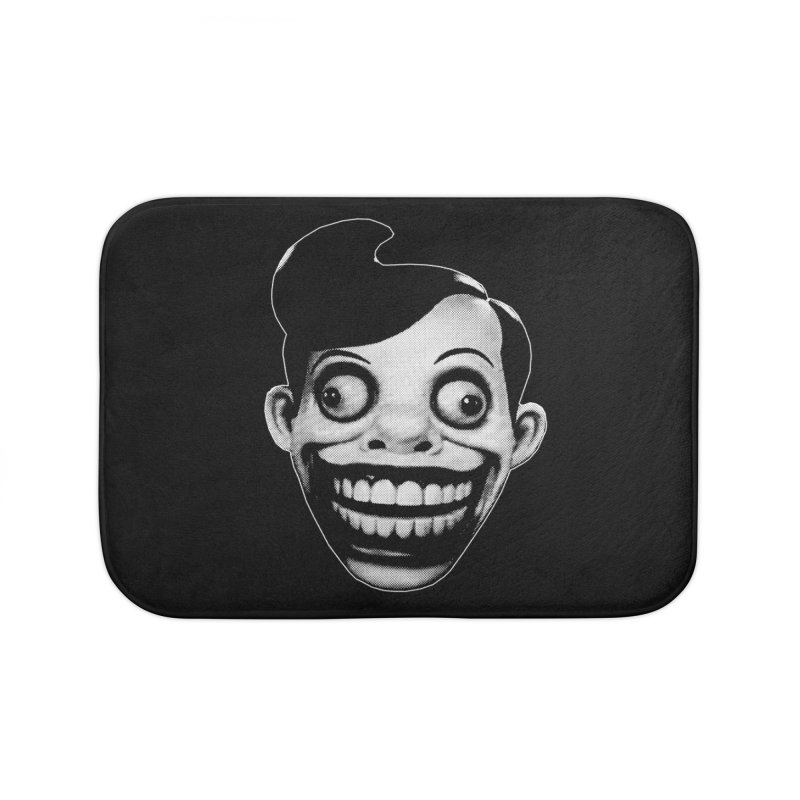 Chuckle Teeth Home Bath Mat by Brimstone Designs