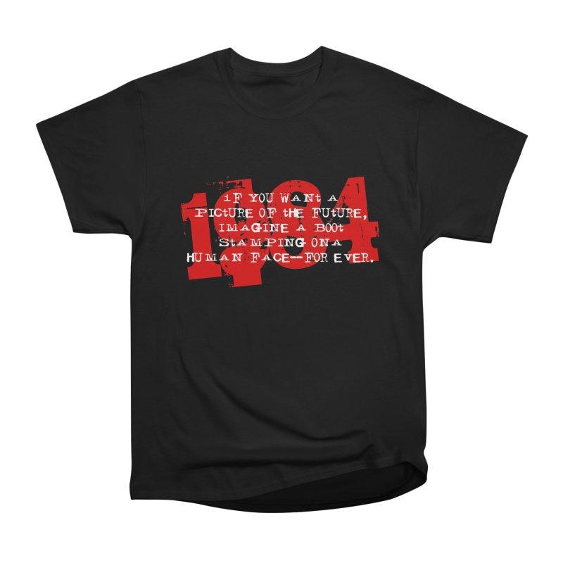 Orwell's Hell Men's Heavyweight T-Shirt by Brimstone Designs