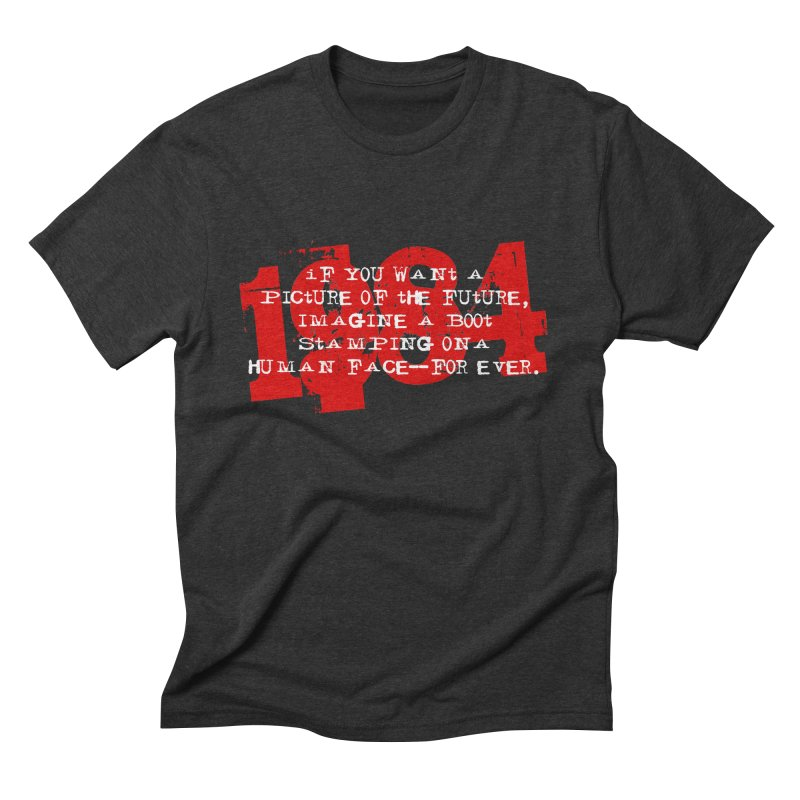 Orwell's Hell Men's Triblend T-Shirt by Brimstone Designs
