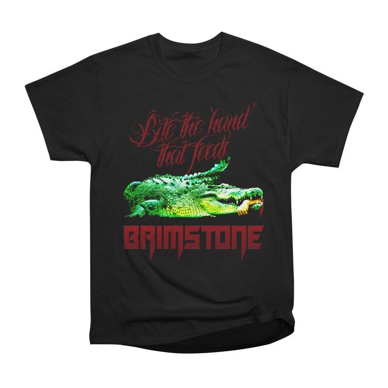 killer crock Men's Heavyweight T-Shirt by Brimstone Designs