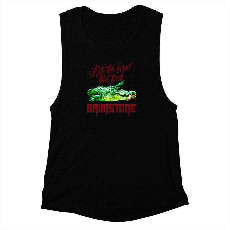 killer crock Women's Muscle Tank by Brimstone Designs