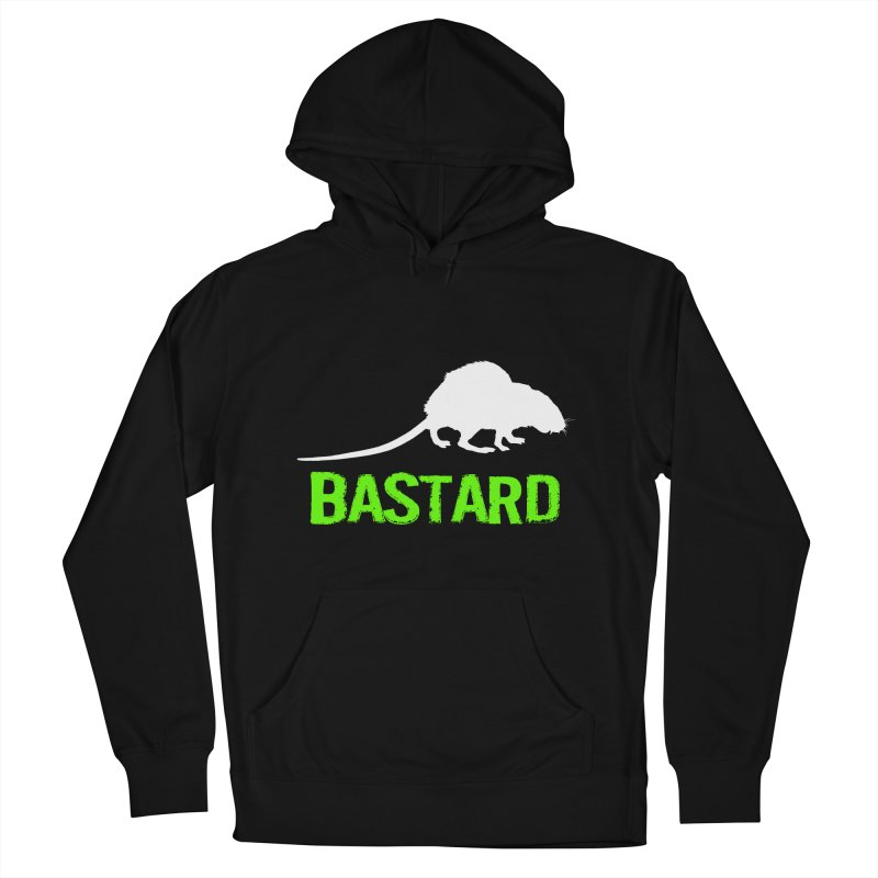 RAT Women's French Terry Pullover Hoody by Brimstone Designs