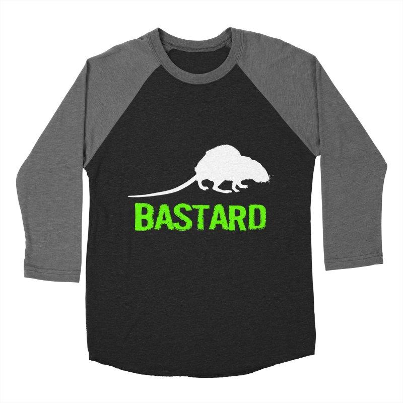 RAT Women's Baseball Triblend Longsleeve T-Shirt by Brimstone Designs