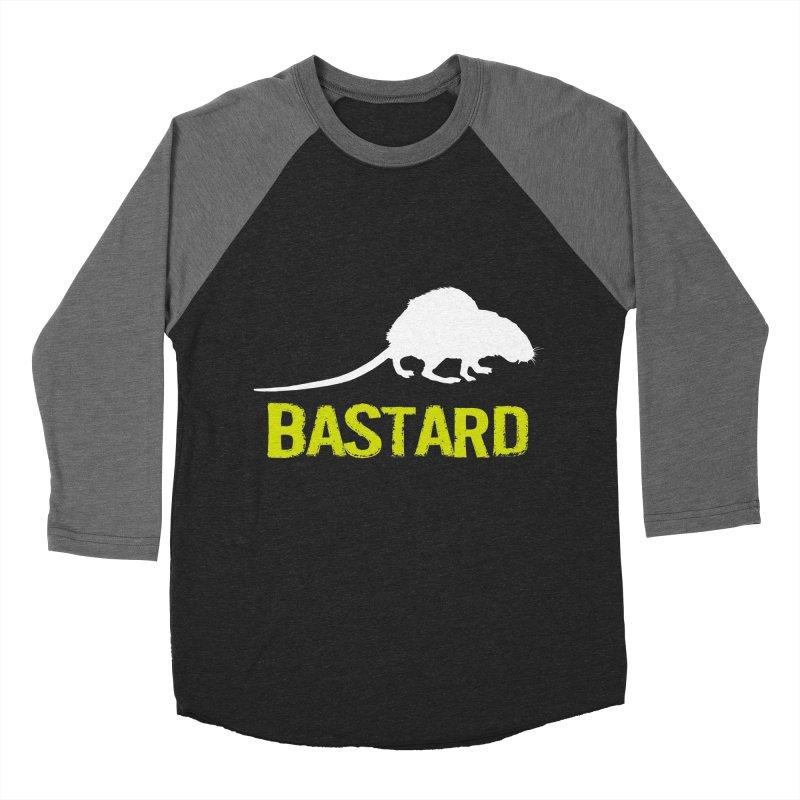 RAT Men's Baseball Triblend Longsleeve T-Shirt by Brimstone Designs