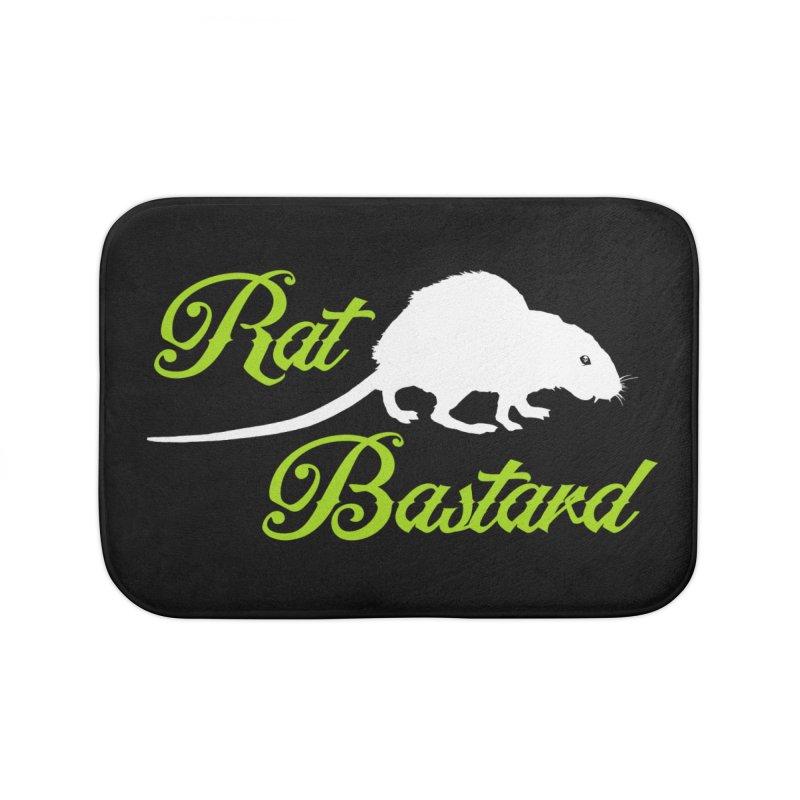 RAT Home Bath Mat by Brimstone Designs