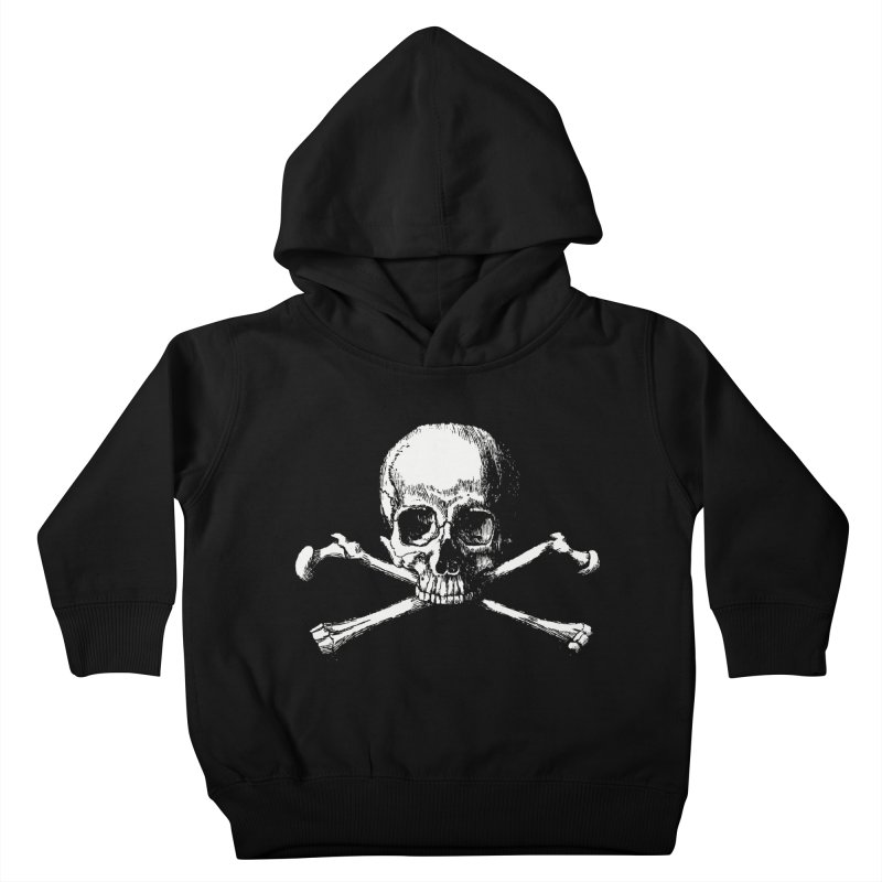Jolly Roger Kids Toddler Pullover Hoody by Brimstone Designs
