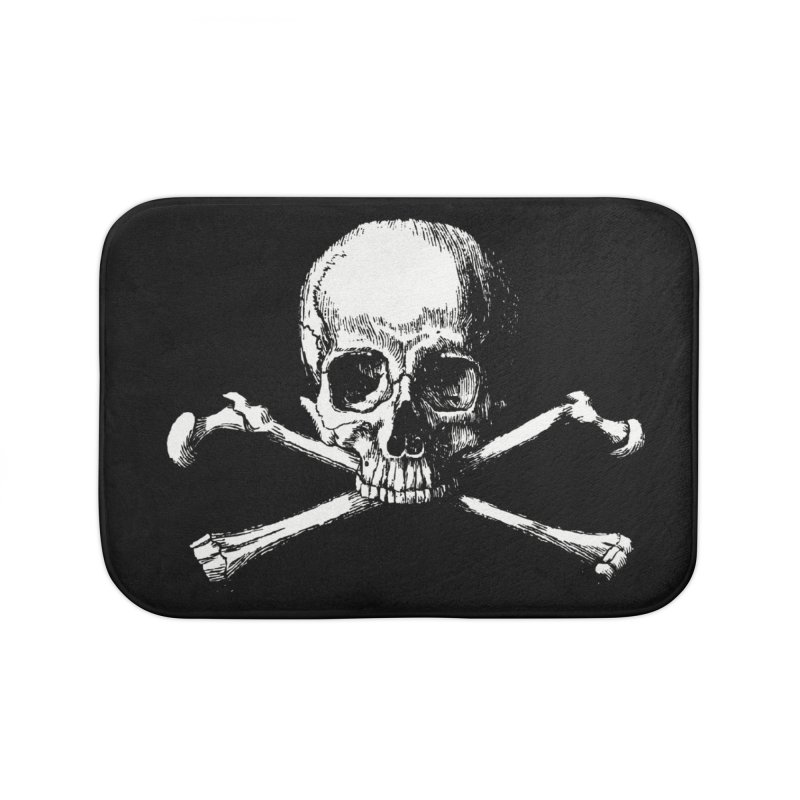 Jolly Roger Home Bath Mat by Brimstone Designs