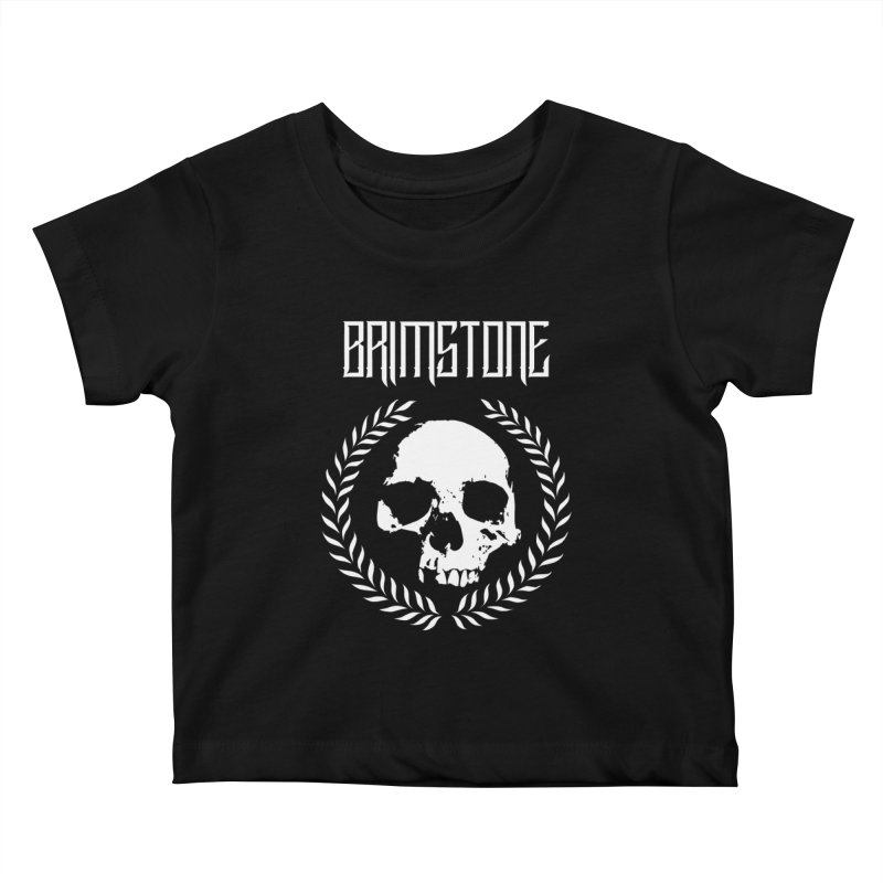 BRIMSTONE LOGO Kids Baby T-Shirt by Brimstone Designs