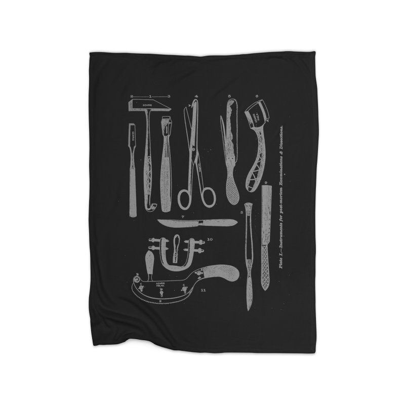 tool set Home Blanket by Brimstone Designs