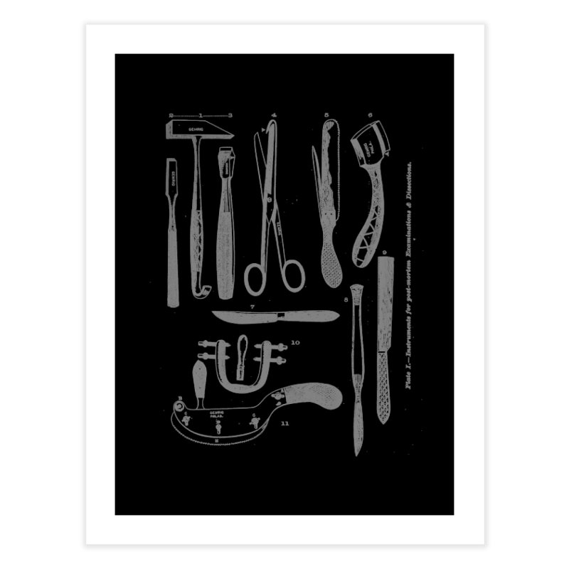 tool set Home Fine Art Print by Brimstone Designs