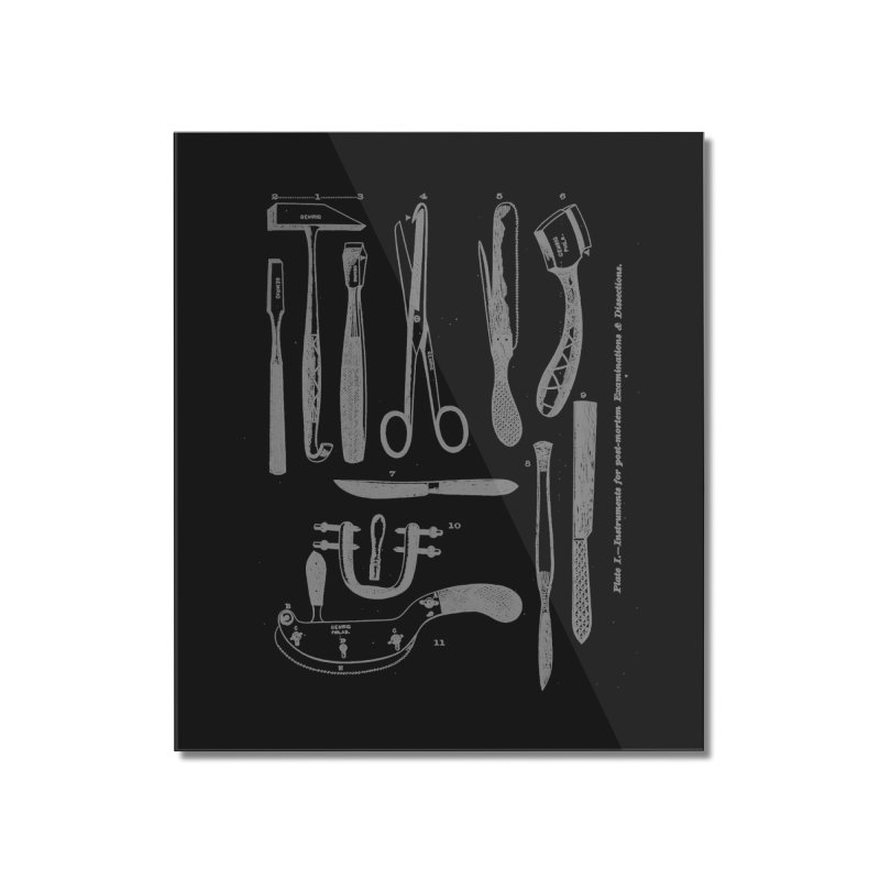 tool set Home Mounted Acrylic Print by Brimstone Designs