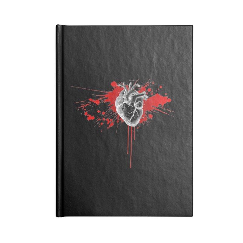 bleeding heart Accessories Notebook by Brimstone Designs