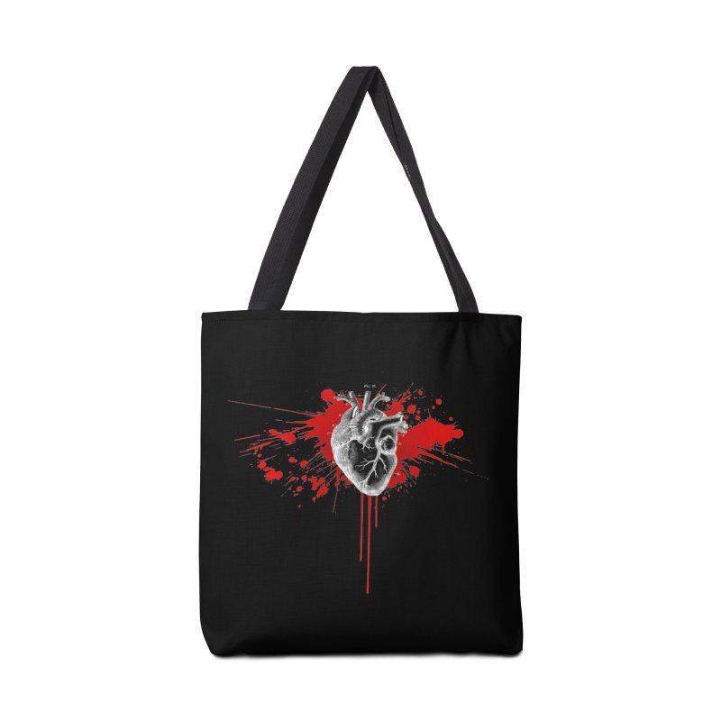 bleeding heart Accessories Bag by Brimstone Designs