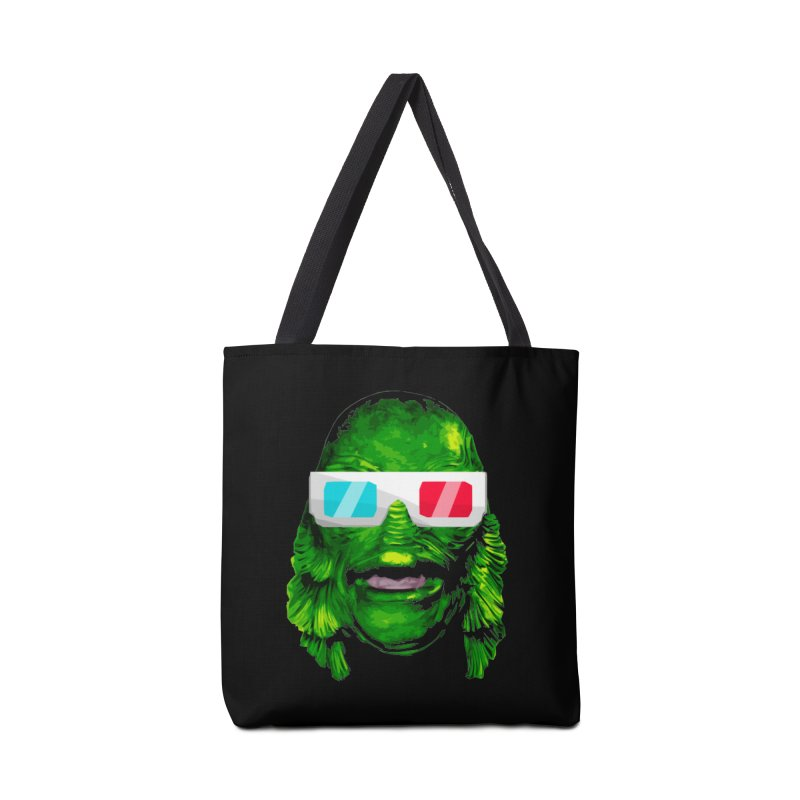 3-D MONSTER Accessories Tote Bag Bag by Brimstone Designs