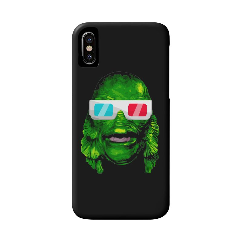 3-D MONSTER Accessories Phone Case by Brimstone Designs